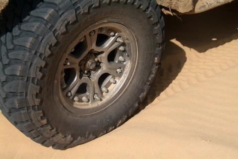 Hutchinson DOT Beadlocks, in the sand... - photo credit: Mike Davidson
