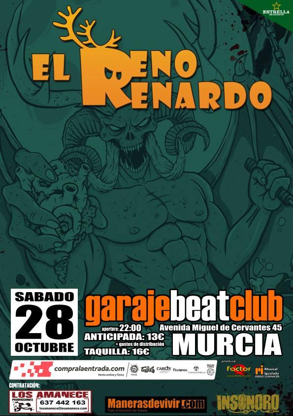 El Reno Renardo: Meriendacena con Satán en Murcia