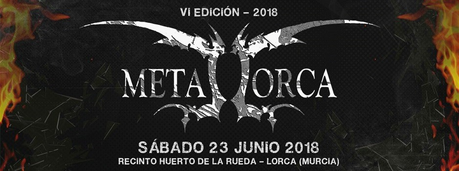 Tres nuevos grupos para cerrar el cartel del Metal Lorca 2018