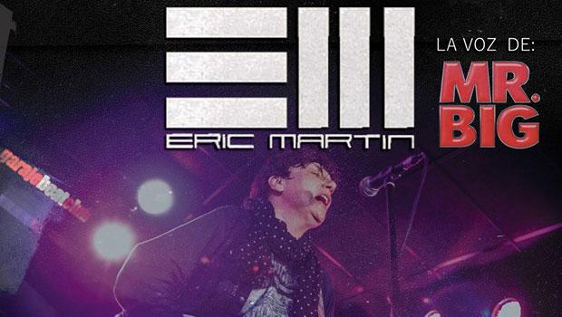 Agenda: Eric Martin en formato acústico en Cartagena