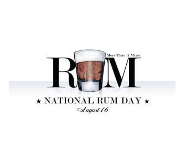National Rum Day!
