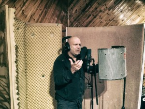 Blaze Bayley in Studio