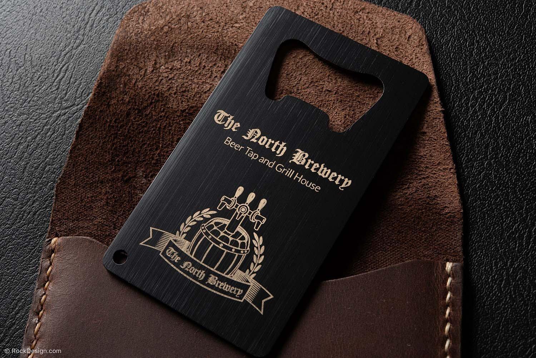 Laser Engraving Black Leather