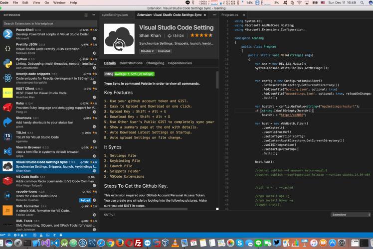 มารู้จักวิธีการ Sync settings profile และ extension-plugin บน Visual studio code กันเถอะ