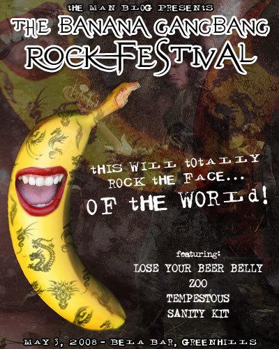 Banana Gangbang Rock festival