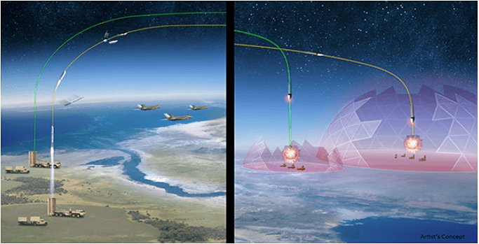 Artist's concept of OpFires, courtesy of DARPA