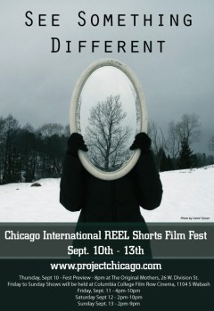 Chicago International REEL Shorts Fest poster