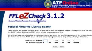 ATF FFL EZ Check