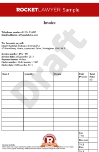 Invoice Template - Free Invoice Template - Create an ...