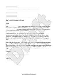 Cease and Desist Letter Form