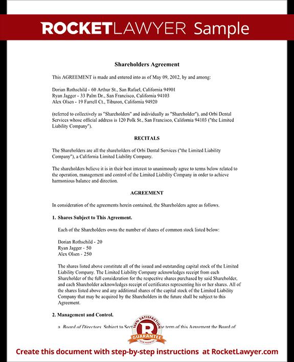 investors agreements