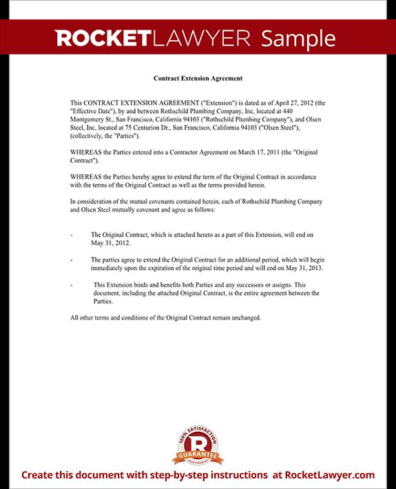 Request For Extension Of Deadline Sample Letter - Resume