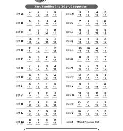 Fact Families 1-10 (+ [ 2250 x 1750 Pixel ]