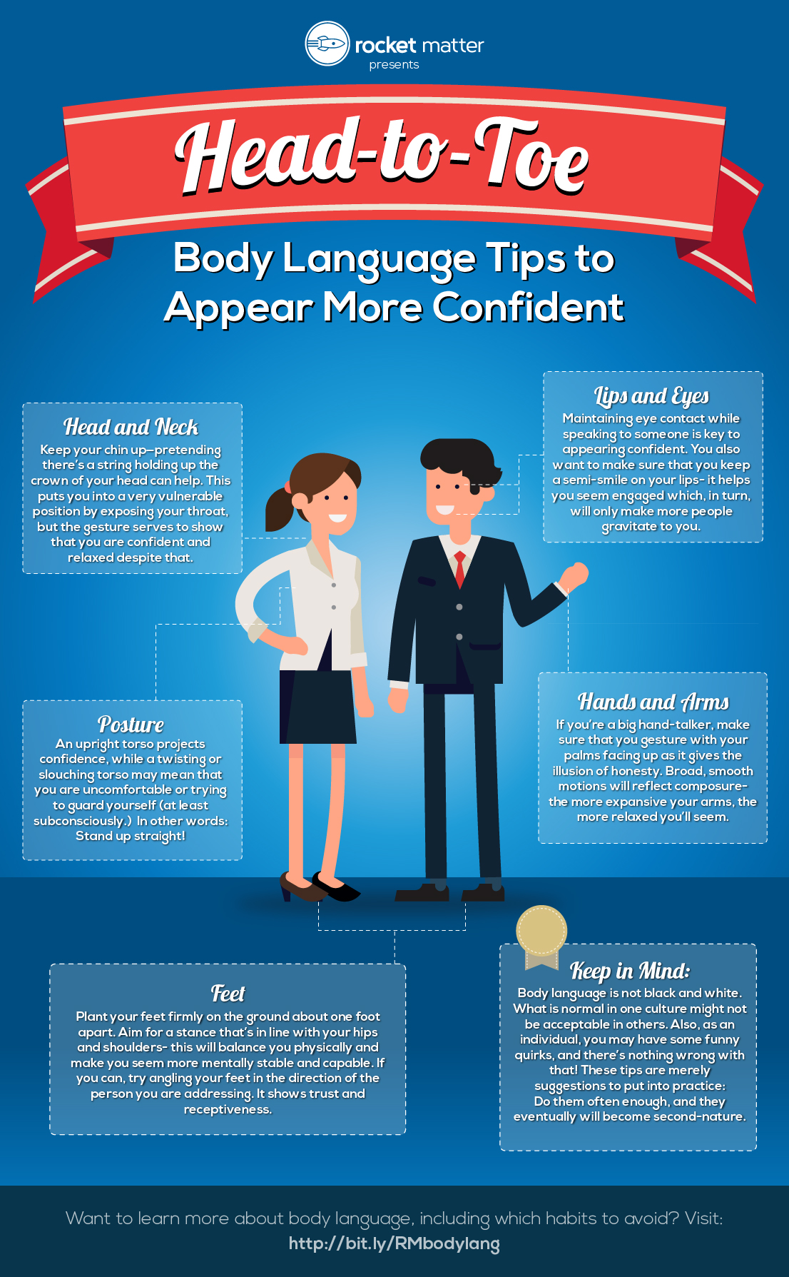 Head To Toe Body Language Tips To Appear More Confident