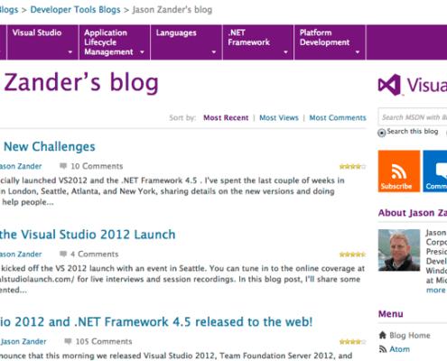 Microsoft Executive Blog