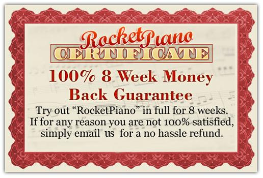 Rocker Piano - Satisfaction Guarantee