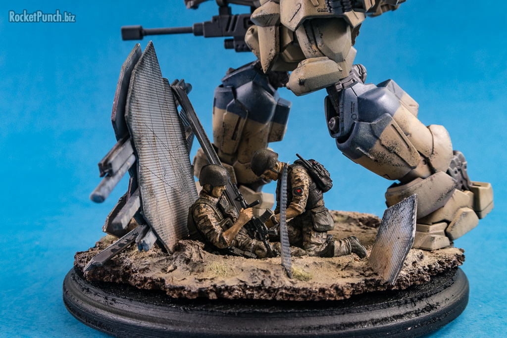 'Cover Fire' - Bandai 1/35 Tactical Armor Type 17EX Shinden