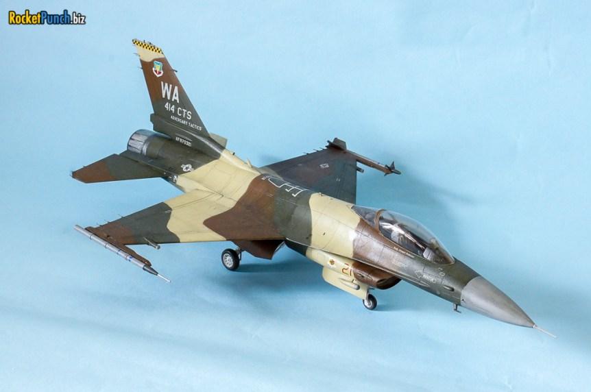 Completed : Hasegawa 1/48 Lockheed Martin F-16C '414th CTS'