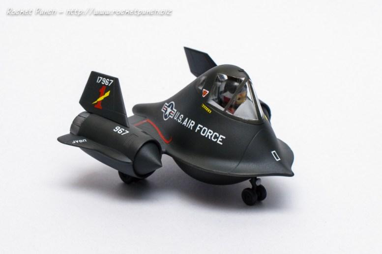 Hasegawa Lockheed SR-71 Blackbird Eggplane
