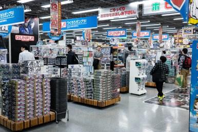 New releases up front @ Yodobashi Camera Akihabara