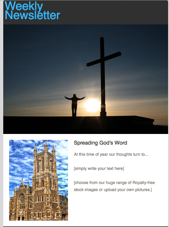 Email marketing for churches