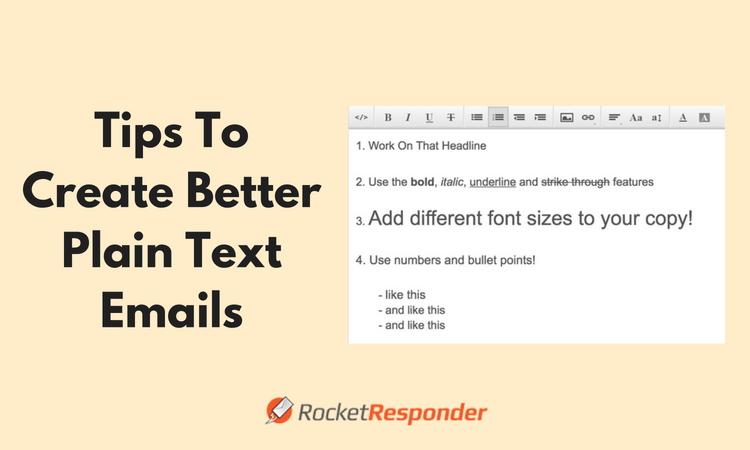 Tips To Create Better Plain Text Emails
