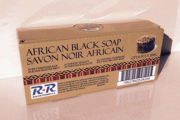 Black Soap 6 pack