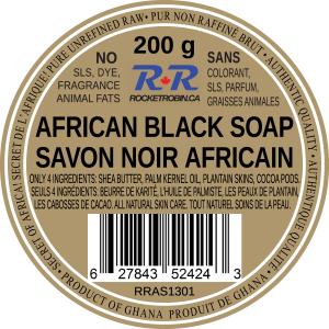 Black Soap Product Label V2