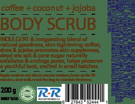 Coffee Scrub Label