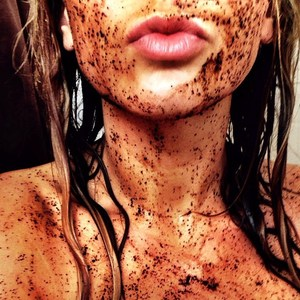 coffee scrub lady