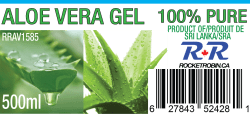 Aloe Vera Gel Juice Label
