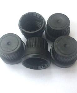 Caps Tamper Evident Black