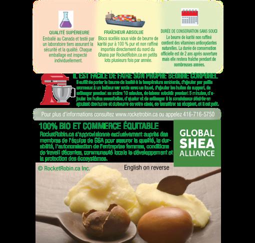 Shea Butter Brochure FR