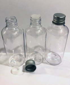 100 ml plastic bottle