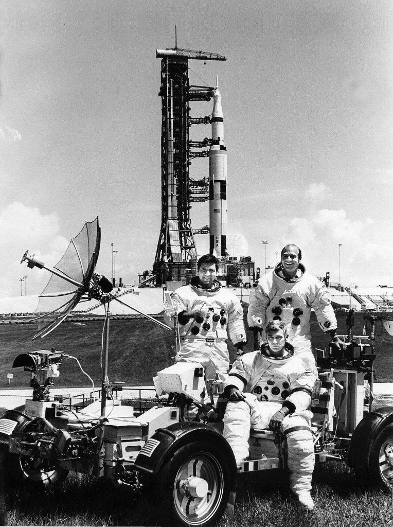 Crew of Apollo 17. Credit: Julian Leek