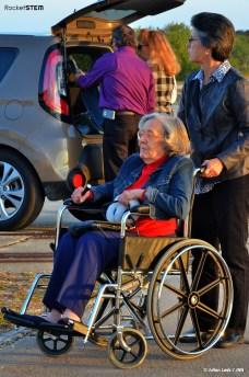 Betty Grissom at the 2014 memorial for Apollo 1.  Photo: Julian Leek/JNN