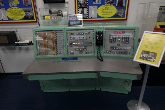 An original Gemini console. Credit: Lloyd Campbell