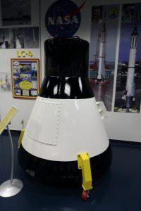 A boilerplate Gemini capsule. Credit: Lloyd Campbell