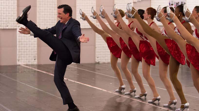 Rockettes Reflections Stephen Colbert The Radio City