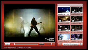 Extreme metal video channel