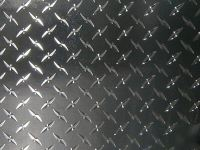 4'X8' diamond plate plastic sticker decal sheet