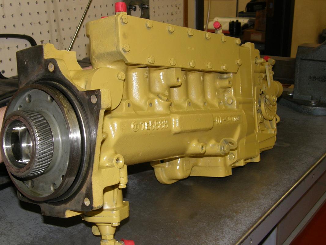hight resolution of picture caterpillar 3406b pump
