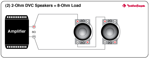 Wiring 4 8 Ohm Speakers Additionally 2 1 Ohm Subwoofer Wiring Diagram