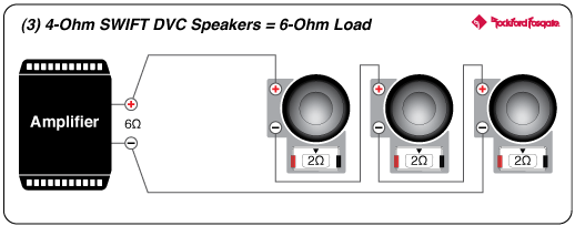 Rockford Fosgate Punch Amp Wiring Diagram Power 12 Quot T0 4 Ohm Dvc Subwoofer Rockford Fosgate