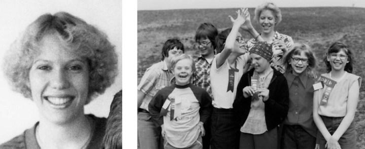 1980 Jeanne Van Drasek and Class