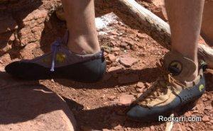 Climbing Shoe Care