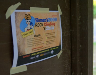 Chicks Rock - Women's Rockclimbing Clinic