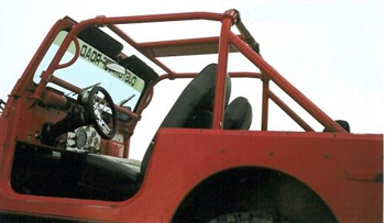 Rock Hard 4x4 Bolt In Ultimate Sport Cage Jeep For Cj7