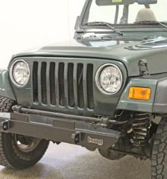 rock hard 4x4 8482 narrow width legendary front bumper for jeep cj5 cj7 cj8 yj  [ 1200 x 800 Pixel ]