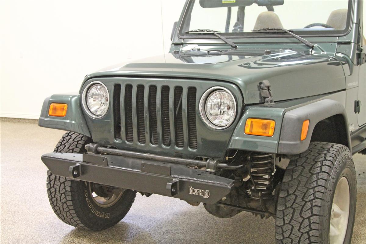 hight resolution of rock hard 4x4 8482 narrow width legendary front bumper for jeep cj5 cj7 cj8 yj